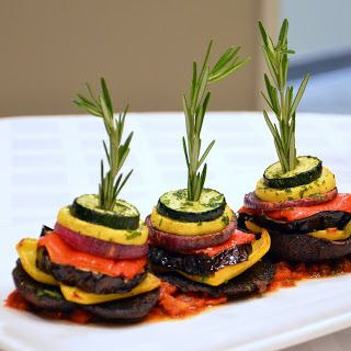 Grilled Vegetable Napoleon
