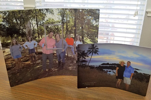 Metal Curved Photo Panels