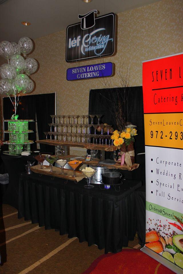 Mashed Potato Martini Bar at LEF Gala