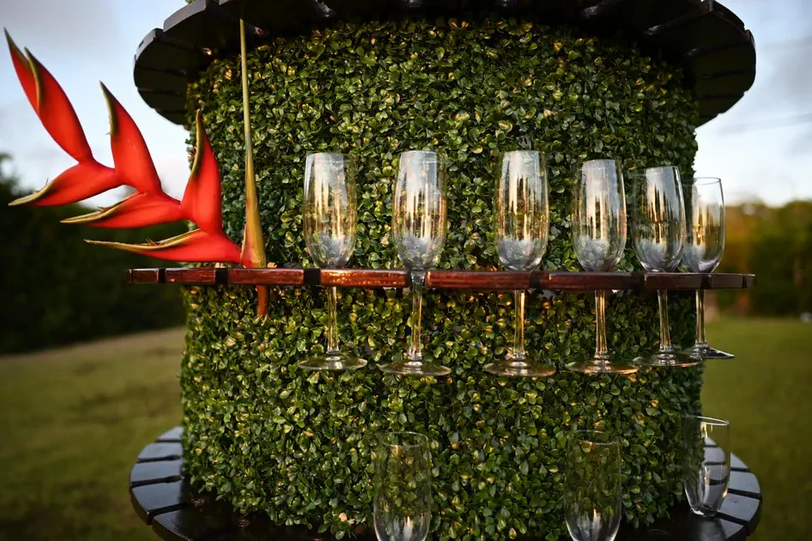 Champagne Holder Tower