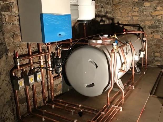 Serious boiler - After