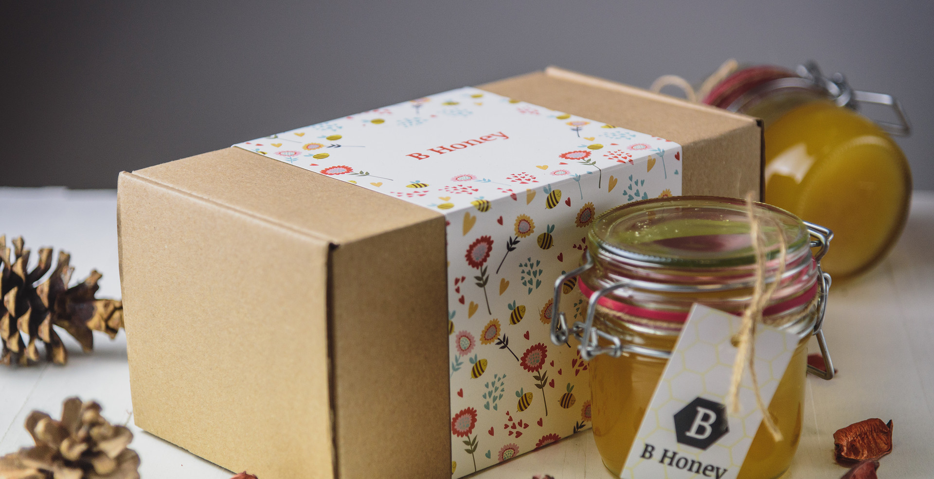 Poklon kutija sa dve tegle
