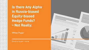 White Paper. Is there Any Alpha in Russia-biased Equity-biased Hedge Funds? – Not Really.