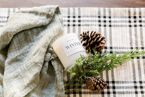 Mullen Design Co. Winter Candle