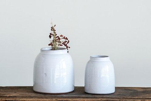 Kai White Bud Vases (set of 2)