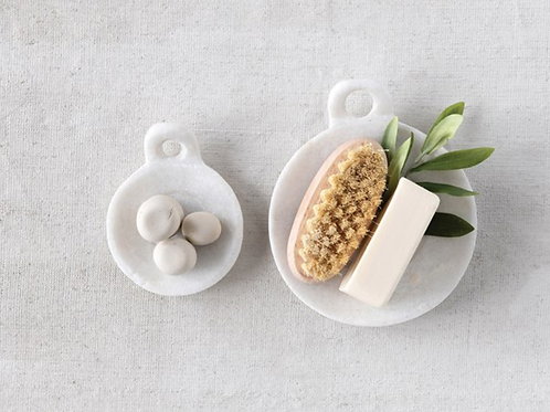 Lucca Marble  Soap Dish