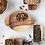 Thumbnail: Monroe Acacia Wood Handle Tray