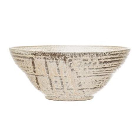 Cream Stoneware Bowl