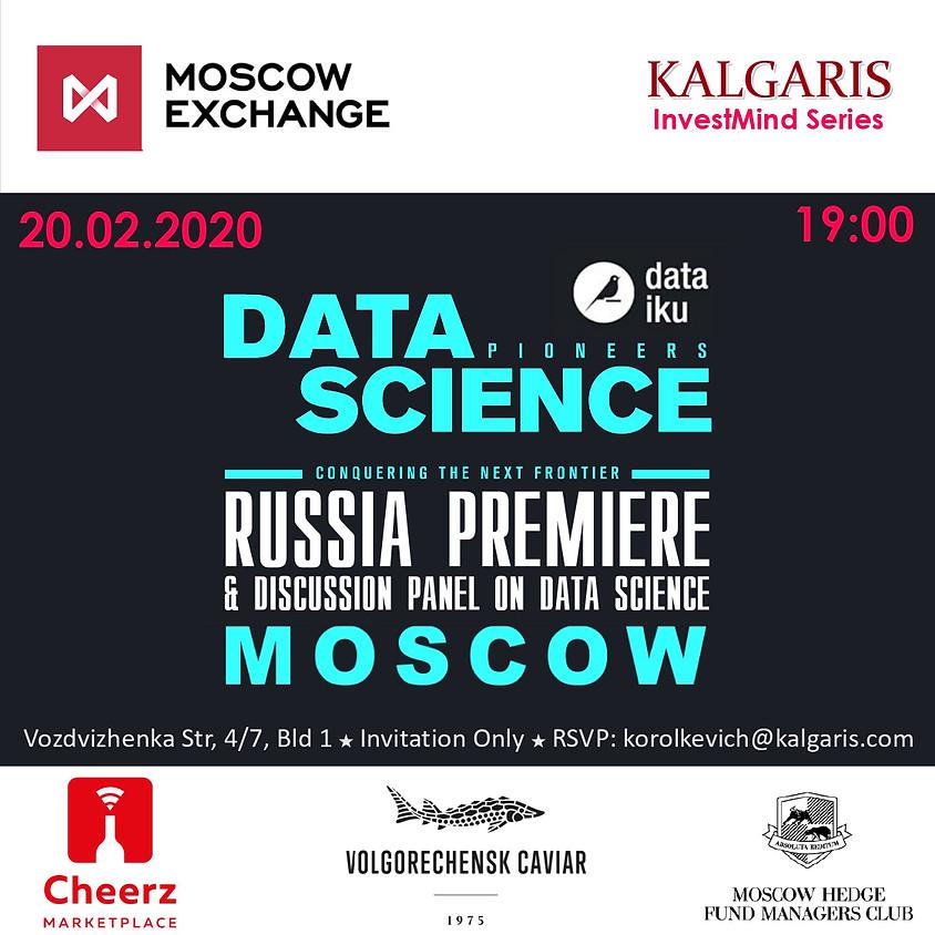 DATA SCIENCE PIONEERS - RUSSIA PREMIERE