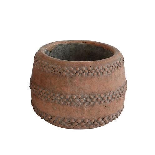 """5"""" Round Cement Pot"""
