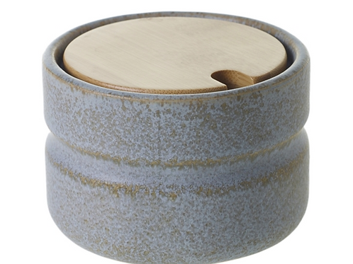 Shayna Stoneware Canister