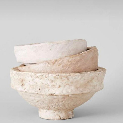 Ava Paper Mache Bowl