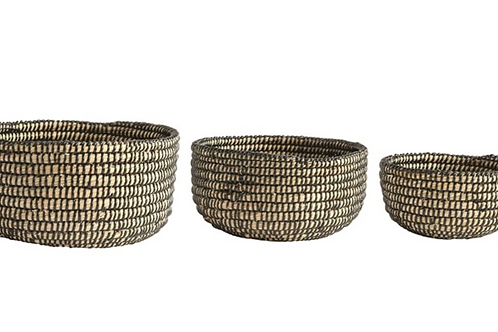 Kingston Woven Baskets set of 3