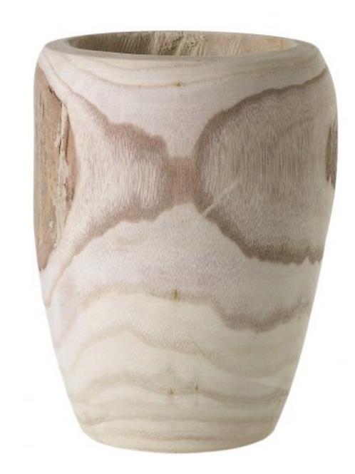 Remy Yukon Wood Vase