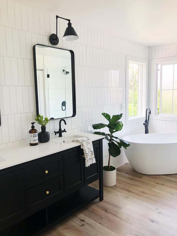 SEH master bath makeover