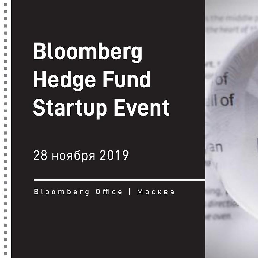 Bloomberg & MHFMC Hedge Fund Startup Event
