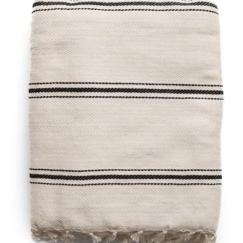 The Stella Bamboo Cotton Throw