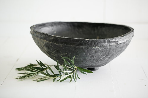 Tatum Paper Mache Bowl