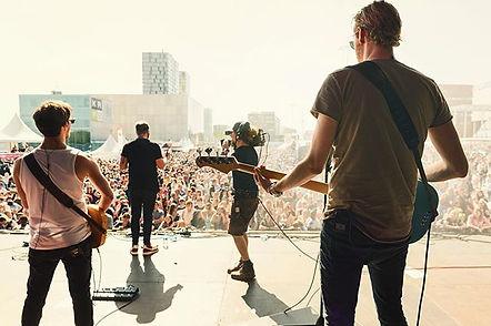 Backstage shot