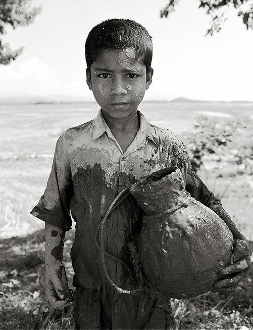 Sacha Dean Biyan | Muddy boy in Bangladesh