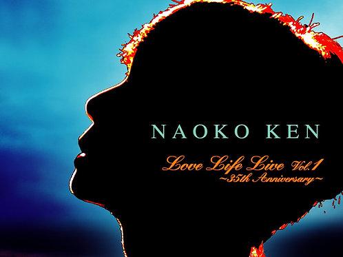 CD+DVD  LOVE LIFE LIVE Vol.1~35th Anniversary~ | 研ナオコ