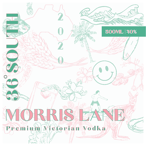 36 South Premium Victorian Vodka
