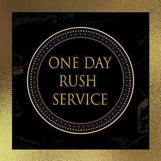One Business Day Rush Fee