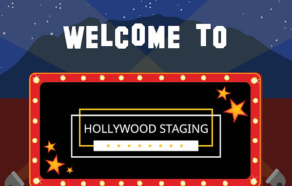 Welcome to Hollywood Staging LLC Graphic