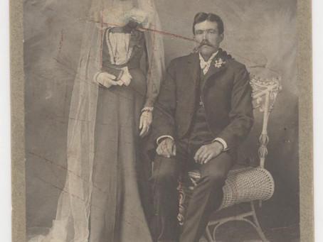Wedding Photo Elisabeth Ehrhardt and Anton William Sander 1902