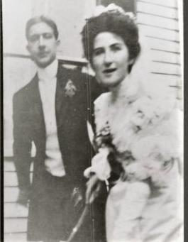 Photos: Esther Wayland Bennett and Augustus Henry Fiske Wedding 1907