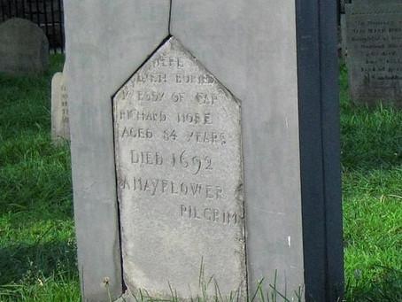 Gravesite of Mayflower Passenger Richard More