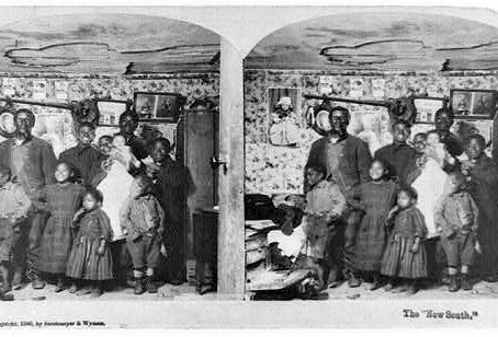 African American family 1890