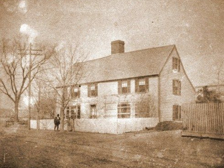 Photo Deane Winthrop House Photo from Historic Massachusetts
