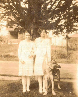 Photo of Mildred Mabel Phelps Berry and Priscilla Atwood Kingsbury