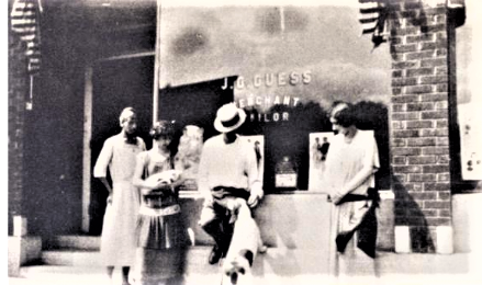 Photo Recalling J.G. Guess Store and Pundy's Cafe Baldwin Wisconsin