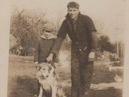 Photo Wilbur Ellsworth Peatfield and John Adams