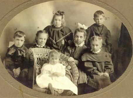 Photo: Children of Alden Kingsman Dyer and Carrie Ellen Hooper