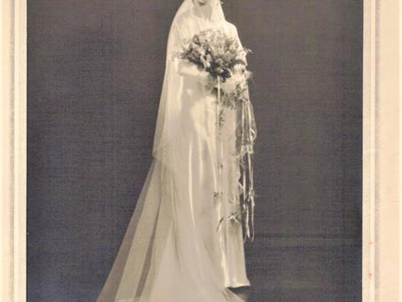 Wedding Photo Jeannette Marie Antoinette Champigny Douglas