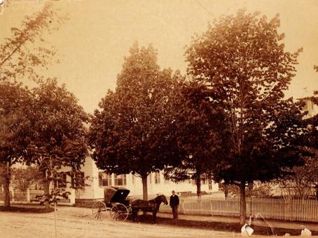 Photo Herbert Ellsworth Family Home Lowell Street Peabody Massachusetts