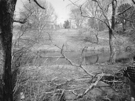 Photo Site of the fulling mill built by Thomas Macy to process raw wool