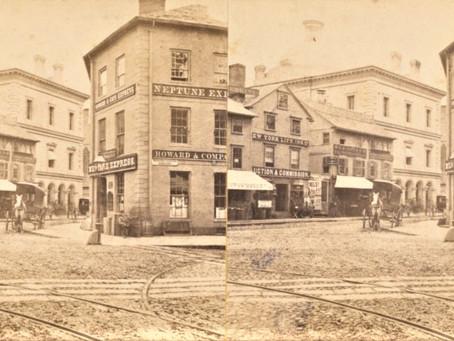 Photo: Providence Rhode Island Post Office 1870