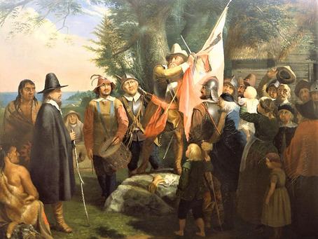 John Endicott and the Flag--Origin of Ancestor's Unusual Name Truecross Davenport