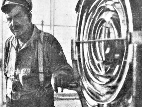 Photo Thomas A Buckridge Montauk Lighthouse Keeper 1933