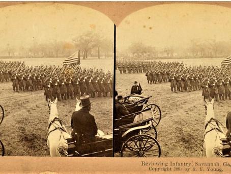 Photo: Forsyth Park Savannah Georgia 1899