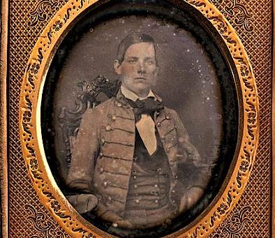 Daguerreotype of Robert Adams The Lost Confederate Charleston Light Dragoons