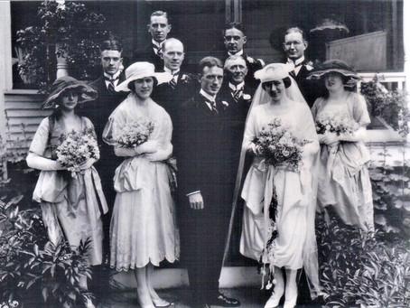 Photo Wedding Bridget Mahan and William F Ford 7 Oct 1891