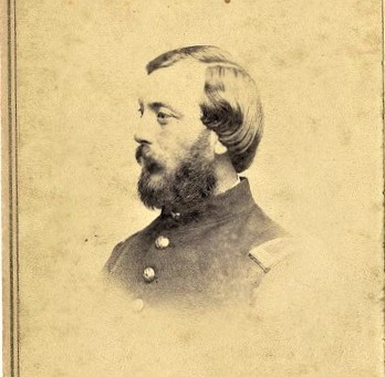 Relics of Union Soldier of the 55th George Thompson Garrison brother of William Lloyd Garrison