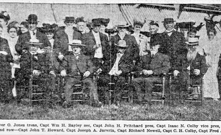 Photos: Marine Society Members Newburyport Massachusetts 1905