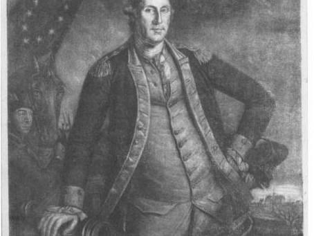 George Washington Mezzotint by Charles Wilson Peale 1780