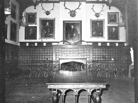 """Inside Skull and Bones Rare photos of the interior of Yale's most storied """"tomb."""""""